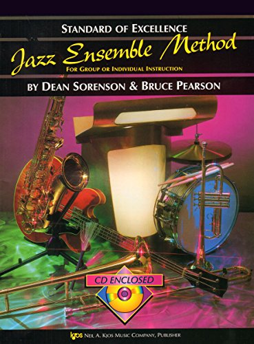 9780849757518: W31TB3 - Standard of Excellence - Jazz Ensemble Method Book/CD - 3rd Trombone
