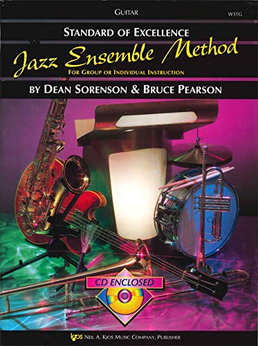9780849757532: W31G - Standard of Excellence Jazz Ensemble Method: Guitar