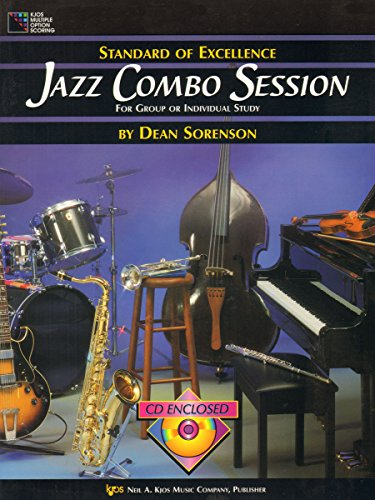 9780849757716: W41P - Standard of Excellence - Jazz Combo Session Book/CD - Piano