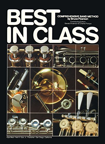 9780849758423: Best in Class Bk. 1: Score & Manual Trumpet