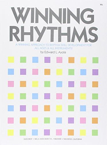 9780849759253: W6 - Winning Rhythms - A Winning Approach to Rhythm Skill Development