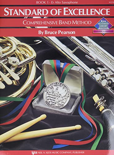 9780849759321: W21XE - Standard of Excellence Book 1 Book Only - Alto Saxophone