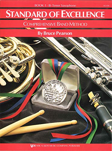 9780849759338: W21XB - Standard of Excellence Book 1 - Tenor Saxophone