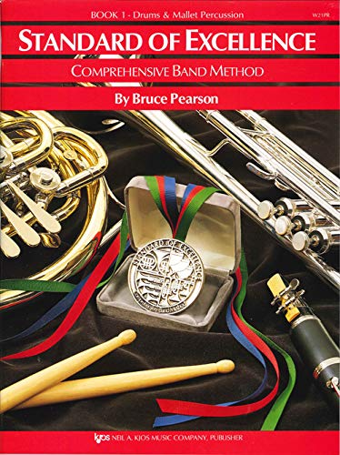 9780849759451: W21PR - Standard of Excellence Book 1 Drums and Mallet Percussion - Book Only (Standard of Excellence Comprehensive Band Method)