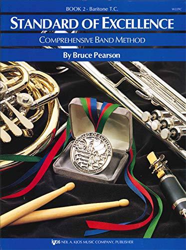 9780849759666: W22TC - Standard of Excellence Book 2 Baritone T.C. (Standard of Excellence - Comprehensive Band Method)