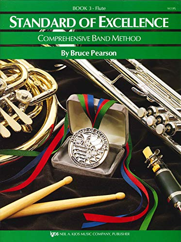 9780849759758: Standard of Excellence Book 3 Flute: Comprehensive Band Method