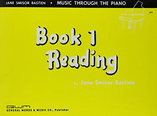 9780849760013: GP2 - Bastien Music Through The Piano Book 1 Reading