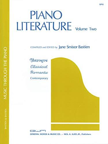 9780849760099: GP10 - Piano Literature Volume 2 - Bastien