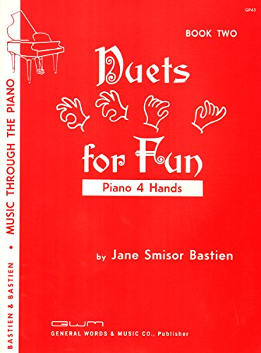 9780849760143: GP43 - Duets for Fun - 1 Piano, 4 Hands - Book 2