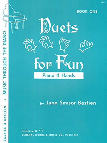 Duets for Fun Book 1 - Bastien Music Through the Piano: Jane Smisor Bastien