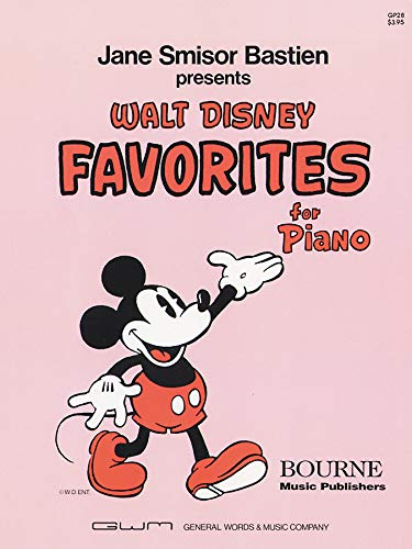 9780849760259: Walt Disney Favorites for Piano (Music Through The Piano) Edition: First