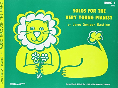 9780849760723: GP75 - Solos for the Very Young Pianist Book 1 - Bastien