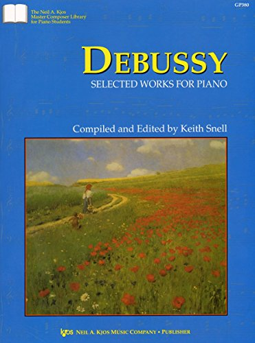 9780849761959: Debussy: Selected Works for Piano