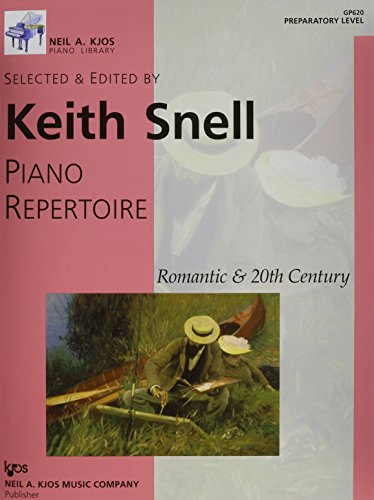 9780849762093: Piano Repertoire: Romantic & 20th Century, Preparatory Level (Neil A. Kjos Piano Library)