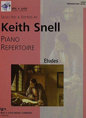 9780849762109: Piano Repertoire, GP640: Etudes Preparatory Level