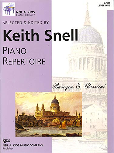 9780849762116: Keith Snell: Piano Repertoire: Baroque & Classical, Level One