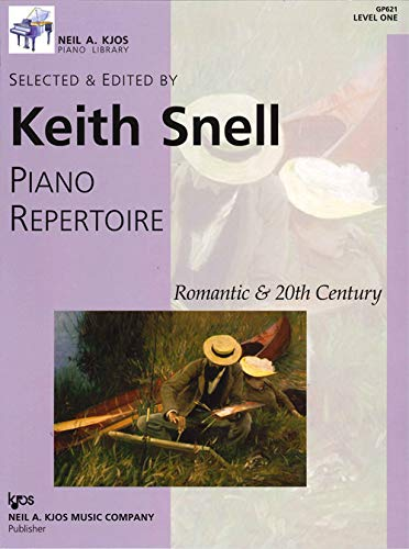 9780849762123: GP621 - Piano Repertoire: Romantic & 20th Century, Level 1