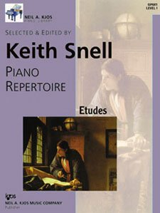 9780849762130: GP641 - Piano Repertoire: Etudes Level One