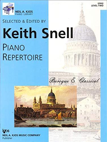 9780849762178: GP602 - Piano Repertoire: Baroque & Classical Level Two