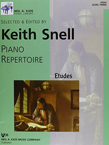 9780849762222: GP643 - Piano Repertoire: Etudes Level 3