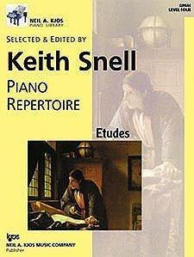 9780849762239: GP644 - Piano Repertoire: Etudes Level Four