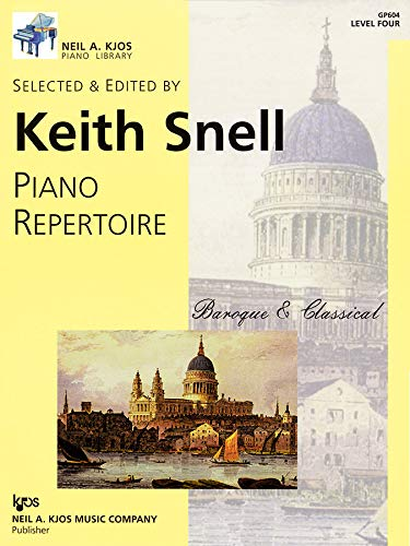 9780849762253: GP604 - Piano Repertoire: Baroque & Classical Level 4