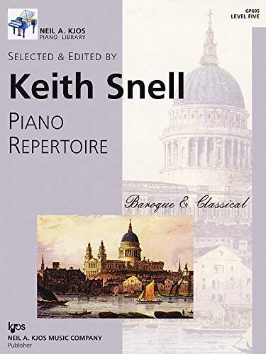 9780849762291: GP605 - Piano Repertoire: Baroque & Classical Level Five