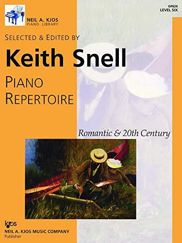 9780849762338: GP626 - Piano Repertoire: Romantic & 20th Century, Level 6
