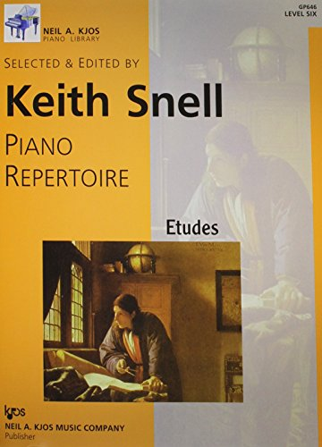 9780849762345: GP646 - Piano Repertoire: Etudes Level 6