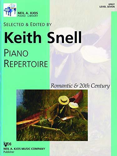 GP627 - Piano Repertoire: Romantic & 20th Century, Level 7: Keith Snell