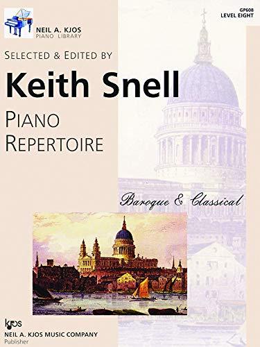 9780849762383: GP608 - Piano Repertoire Baroque & Classical Level Eight