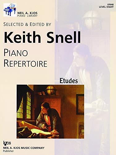 9780849762406: GP648 - Piano Repertoire: Etudes Level 8