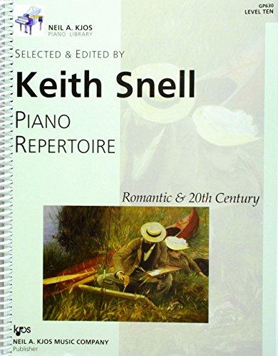 9780849762475: Piano Repertoire: Romantic & 20th Century, Vol. 11: Level 10 (Neil A. Kjos Piano Library)