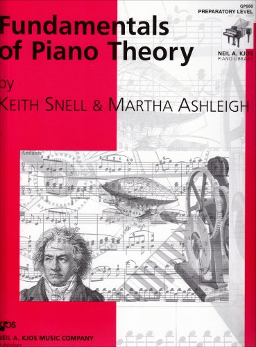 9780849762536: GP660 - Fundamentals of Piano Theory - Preparatory Level