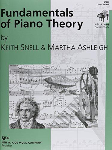 9780849762581: GP663 - Fundamentals of Piano Theory - Level 3