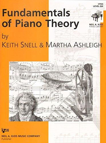 9780849762666: GP666 - Fundamentals of Piano Theory - Level 6