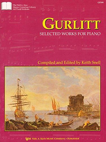 9780849762697: GP399 - Gurlitt - Selected Works for Piano