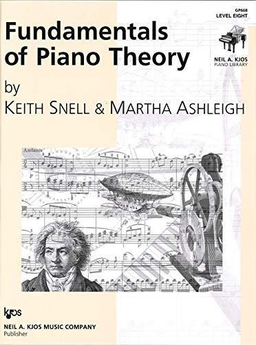 9780849762758: GP668 - Fundamentals of Piano Theory - Level Eight