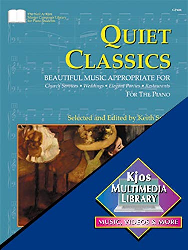 9780849762918: GP408 - Quiet Classics for the Piano - Snell