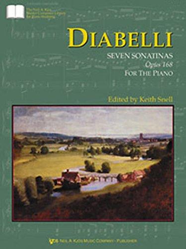 GP423 - Diabelli Seven Sonatinas, Op. 168: Anton Diabelli