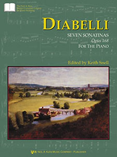 9780849762932: GP423 - Diabelli Seven Sonatinas, Op. 168 (The Neil A. Kjos Master Composer Library for Piano Students)