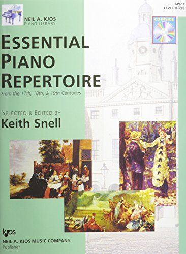 9780849763533: GP453 - Essential Piano Repertoire of the 17th, 18th, & 19th Centuries Level 3