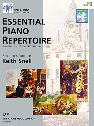 9780849763557: Essential Piano Repertoire - (book and Cd): Level 5