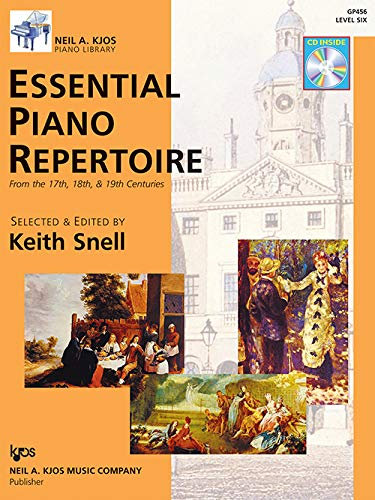 9780849763564: GP456 - Essential Piano Repertoire of the 17th, 18th, & 19th Centuries Level 6