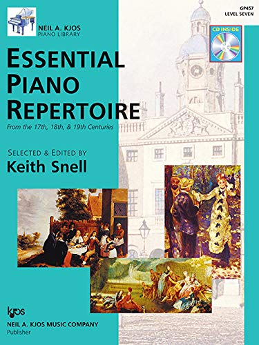 9780849763571: GP457 - Essential Piano Repertoire of the 17th, 18th, & 19th Centuries Level 7