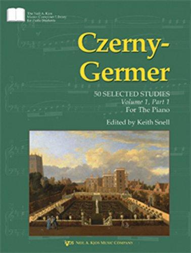 9780849763700: Czerny-Germer: Volume 1: 50 Selected Studies