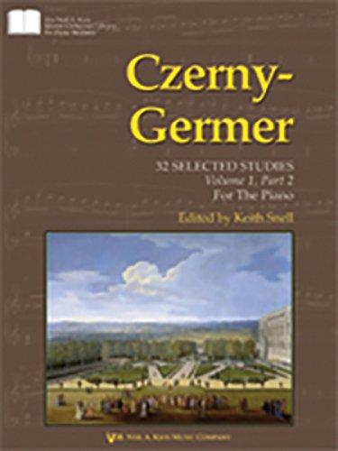 9780849763717: Czerny-Germer: Volume 1: 32 Selected Studies