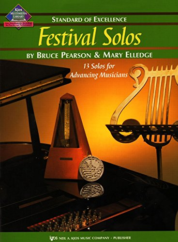 9780849764035: W39FL - Standard of Excellence - Festival Solos Book 3 - Flute