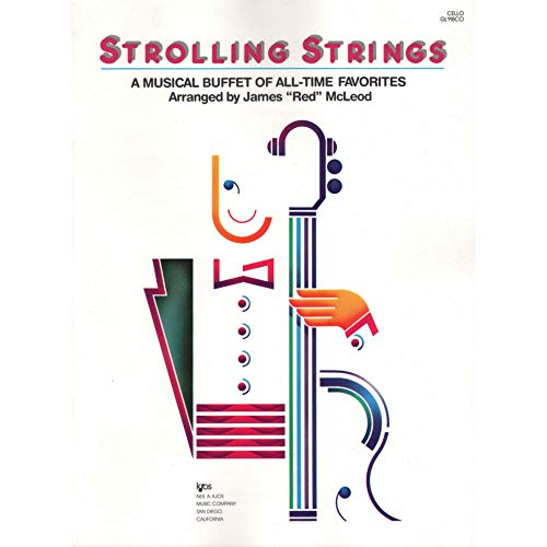 9780849769153: Strolling Strings - A Musical Buffet of All-Time Favorites (Cello Score - GL118CO)