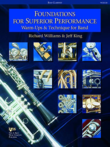 9780849770081: W32CLB - Foundations for Superior Performance: Warm-ups and Technique for Band : Bass Clarinet